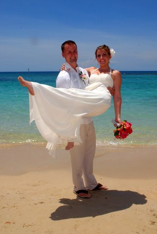 Sean & Jess, Married in Jamaica