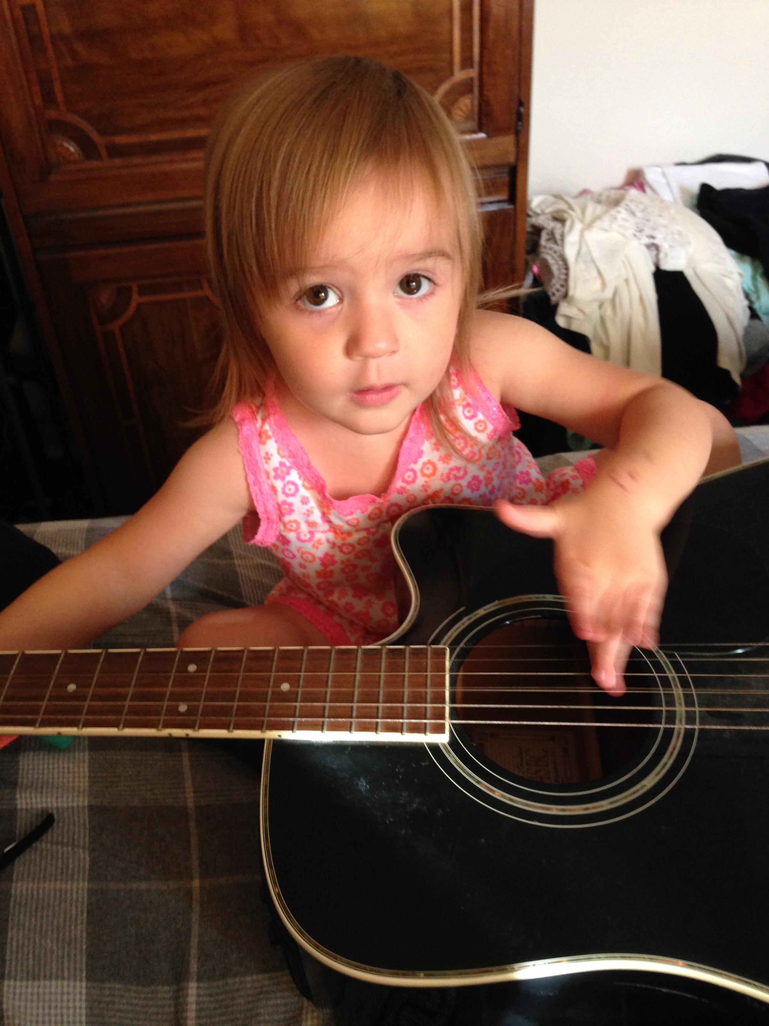 Keira enjoys music
